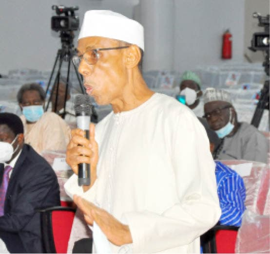 Director of Publicity of the Northern Elders Forum, Dr Hakeem Baba-Ahmed