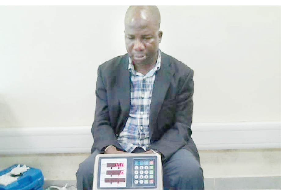 Former Vice Chairman of Lagos Island East Local Council Development Area (LCDA), Adejobi Sikiru, arrested on Friday at the Murtala Mohammed International Airport (MMIA),Ikeja, Lagos by officials of the National Drug Law Enforcement Agency (NDLEA) with cocaine worth millions of naira